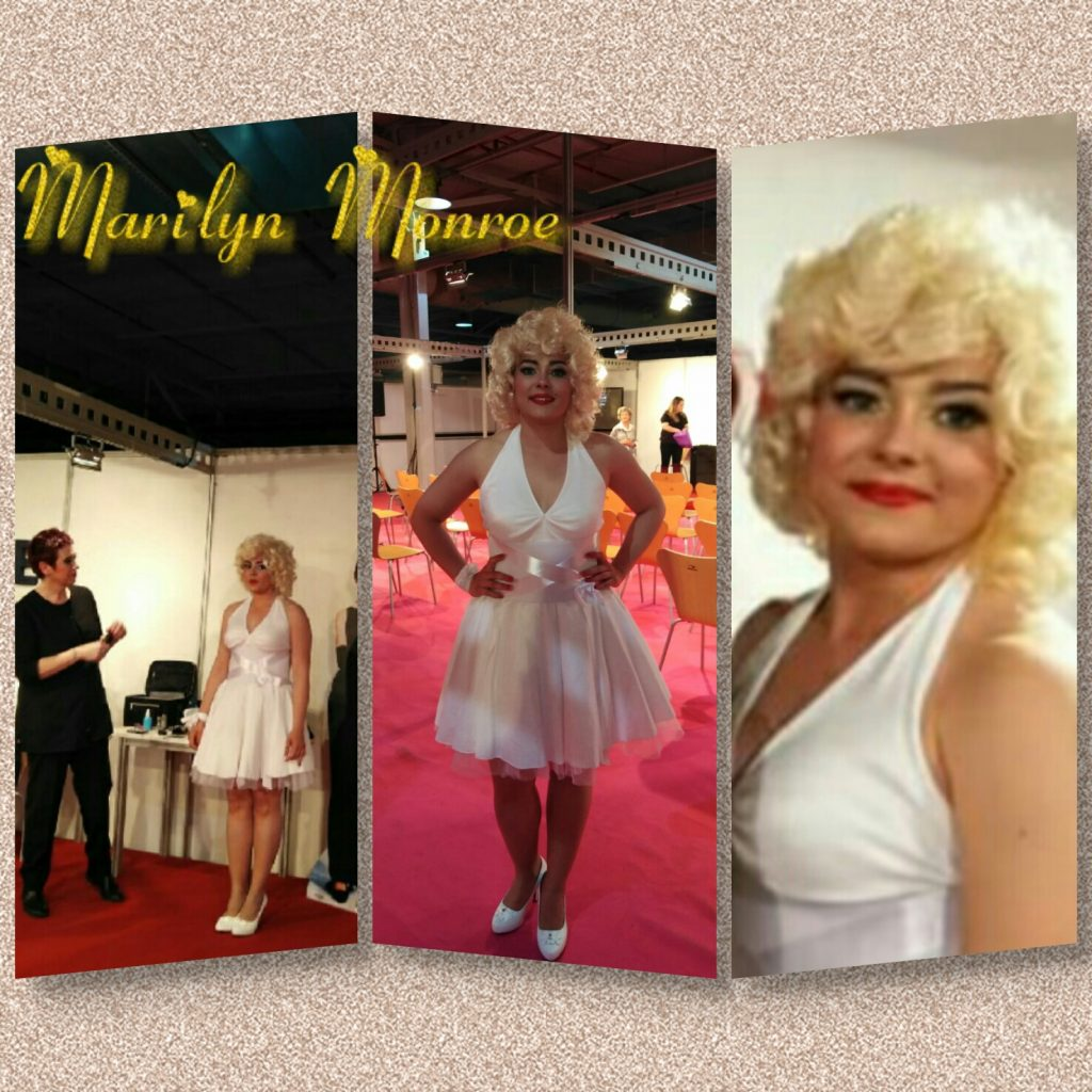 Rosanna Makeup Team recrea a Marilyn Monroe